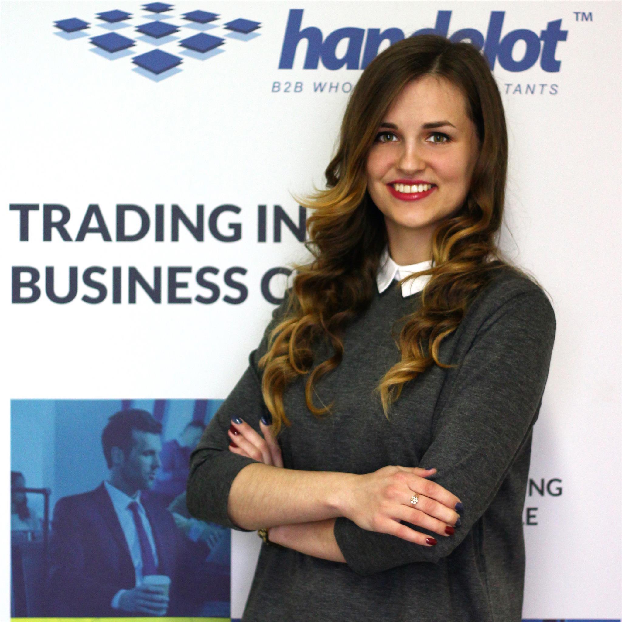 Business Developer Iryna Mats